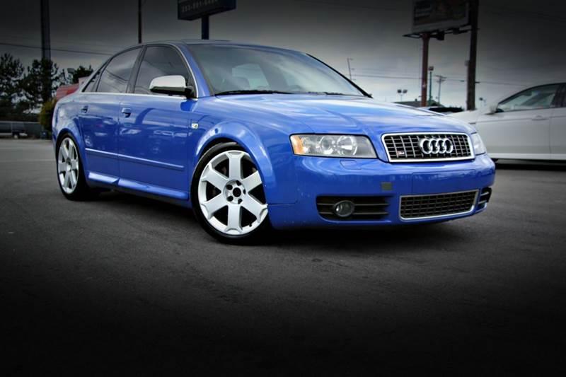Audi S In Tacoma WA Lux Motors - Audi s4 for sale