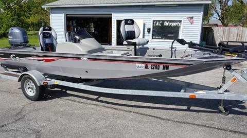 2012 G3  EAGLE 175PF VINYL // 50 YAMAHA 4-STROKE // LOADED