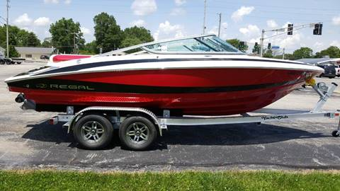 2011 REGAL 2100 BOWRIDER // LOADED  // 2018  CUSTOM TRAILER