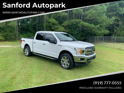 2019 Ford F-150 for sale at Sanford Autopark in Sanford NC