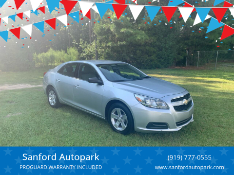 2013 Chevrolet Malibu for sale at Sanford Autopark in Sanford NC