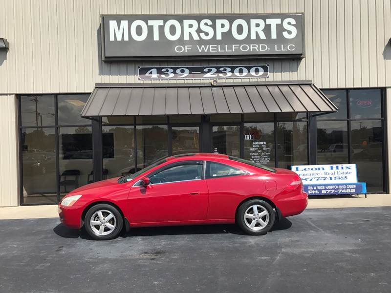 2003 Honda Accord EX 2dr Coupe   Wellford SC