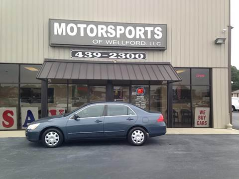 2006 Honda Accord for sale in Wellford, SC