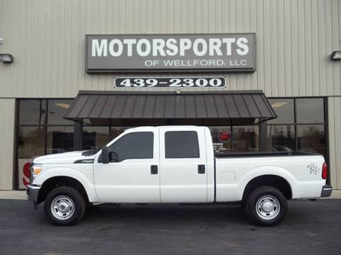 2015 Ford F-250 Super Duty for sale at MotorCars LLC in Wellford SC