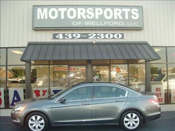 2009 Honda Accord for sale in Wellford, SC