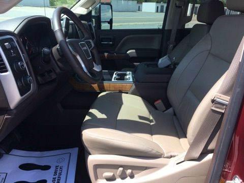 2016 GMC Sierra 2500HD 4x4 SLT 4dr Crew Cab SB - Mountain Home AR
