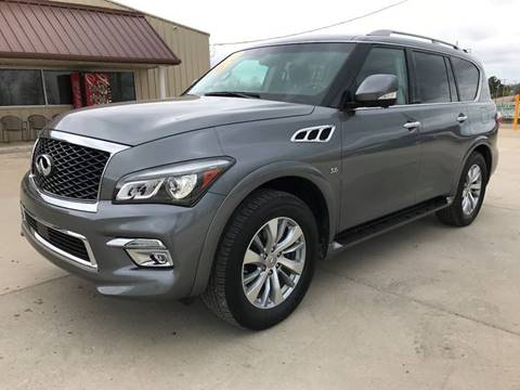 2017 Infiniti QX80 for sale at DISCOUNT AUTO SALES in Mountain Home AR