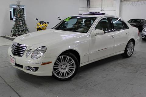 2008 Mercedes-Benz E-Class for sale at R n B Cars Inc. in Denver CO