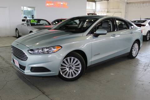 2014 Ford Fusion Hybrid for sale at R n B Cars Inc. in Denver CO