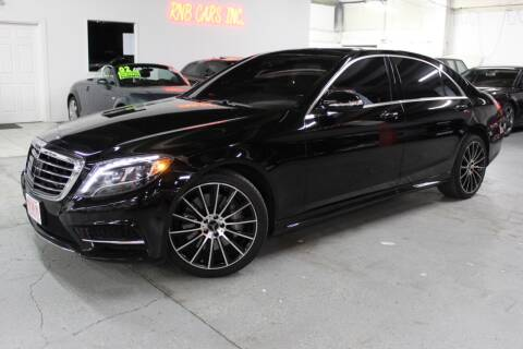 2014 Mercedes-Benz S-Class for sale at R n B Cars Inc. in Denver CO