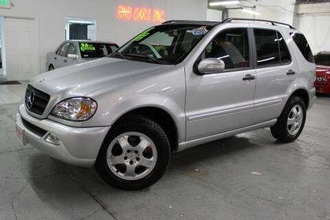 2003 Mercedes-Benz M-Class for sale at R n B Cars Inc. in Denver CO
