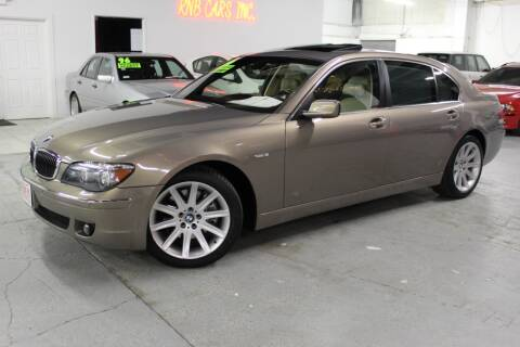 2006 BMW 7 Series for sale at R n B Cars Inc. in Denver CO