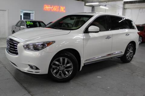 2013 Infiniti JX35 for sale at R n B Cars Inc. in Denver CO