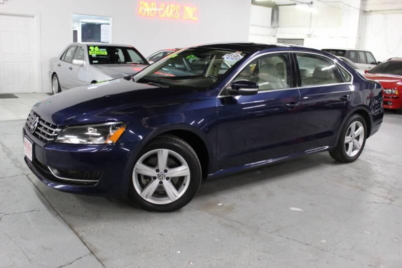 2013 Volkswagen Passat for sale at R n B Cars Inc. in Denver CO