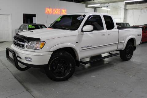 2000 Toyota Tundra for sale at R n B Cars Inc. in Denver CO