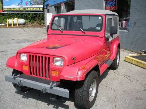 1989 Jeep Wrangler for sale in Boone, NC