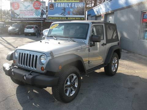 2013 Jeep Wrangler for sale in Boone, NC