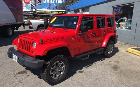 2017 Jeep Wrangler Unlimited for sale in Boone, NC