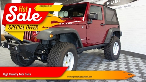 2012 Jeep Wrangler for sale in Boone, NC