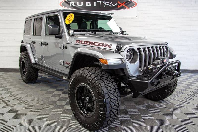 2019 Jeep Wrangler Unlimited 4x4 Rubicon 4dr SUV In Boone NC