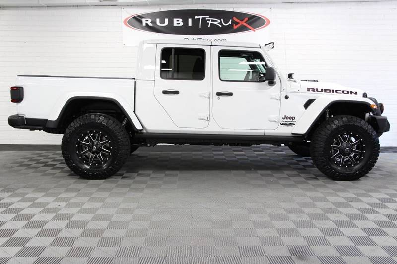 2020 Jeep Gladiator 4x4 Rubicon 4dr Crew Cab 5 0 ft  SB In