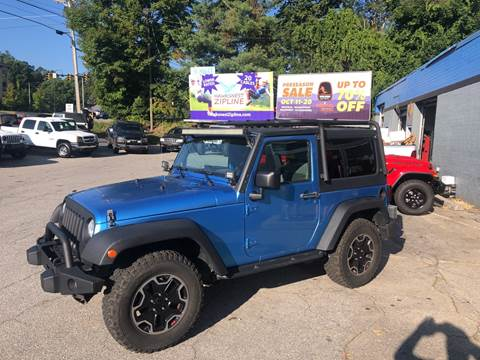 2010 Jeep Wrangler for sale in Boone, NC