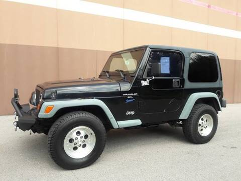 1998 Jeep Wrangler Sport For Sale In Saint Charles, MO