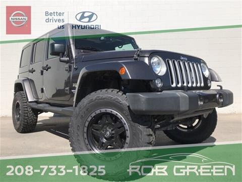 2016 Jeep Wrangler Unlimited for sale in Twin Falls, ID