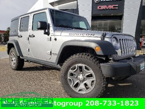 2017 Jeep Wrangler Unlimited for sale in Twin Falls, ID