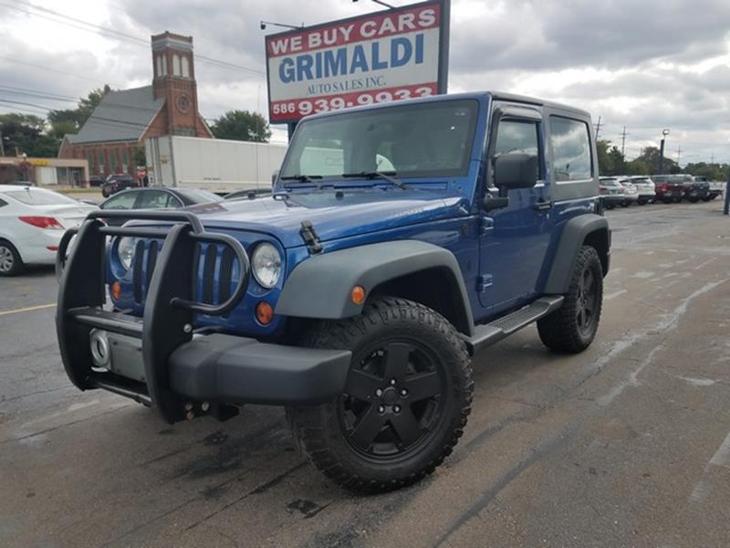 2009 Jeep Wrangler For Sale At Grimaldi Auto Sales Inc In Warren MI