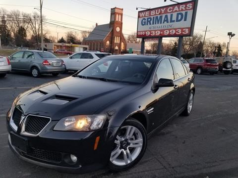 2009 Pontiac G8 for sale in Warren, MI