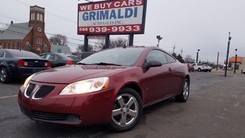 2008 Pontiac G6 for sale in Warren, MI