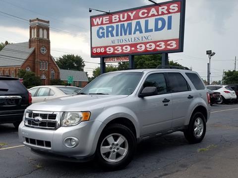 2010 Ford Escape for sale in Warren, MI