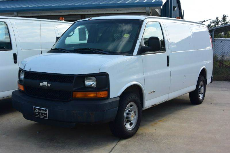 2005 Chevrolet Express Cargo for sale at STRICKLAND AUTO GROUP INC in Ahoskie NC