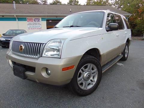 2004 Mercury Mountaineer for sale in Fredericksburg, VA