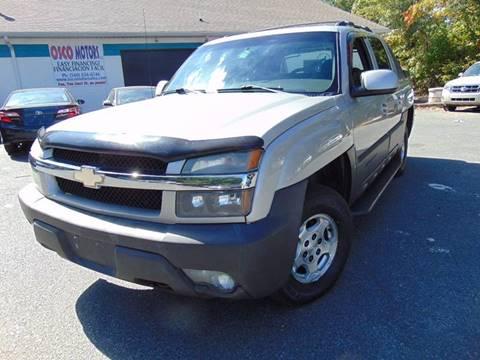 2004 Chevrolet Avalanche for sale in Fredericksburg, VA