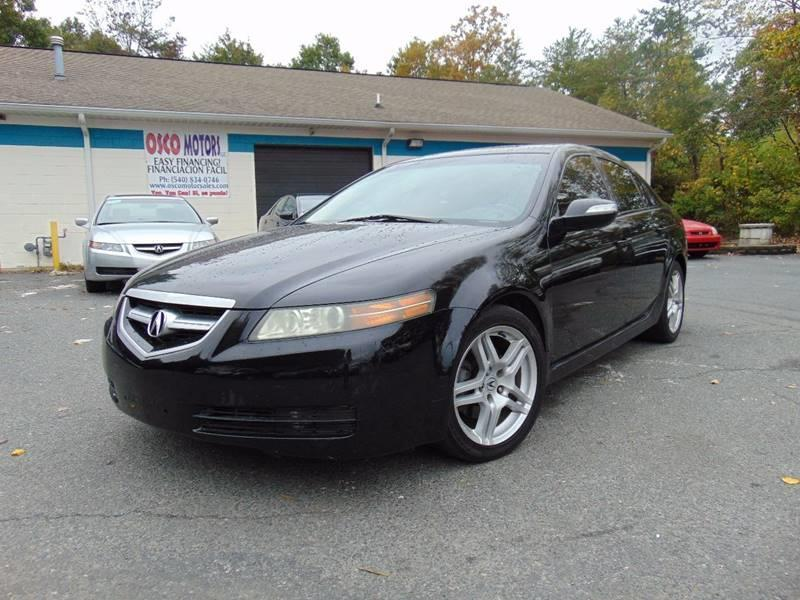 Acura TL WNavi In Spotsylvania VA Osco Motors - 2007 acura tl for sale