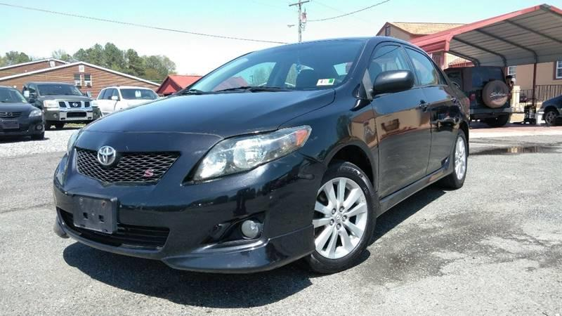2009 Toyota Corolla For Sale At Osco Motors In Spotsylvania VA