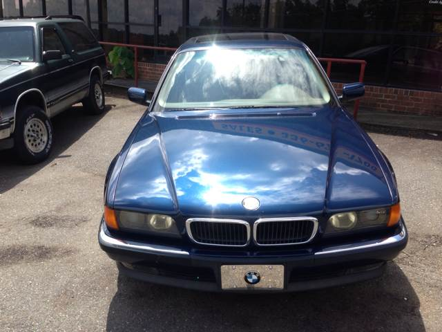 1998 BMW 7 Series for sale at Brady Car & Truck Center in Asheboro NC