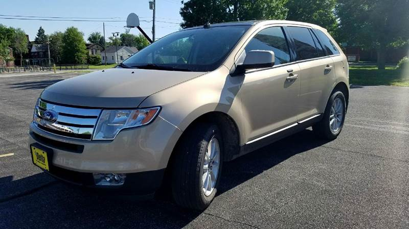 2007 Ford Edge Sel Plus Awd 4dr Suv In Quincy Il Delta Tire Custom Rhdeltaautoquincy: 2007 Ford Edge Custom Audio At Gmaili.net