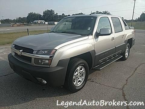 2004 Chevrolet Avalanche for sale in Pelzer, SC