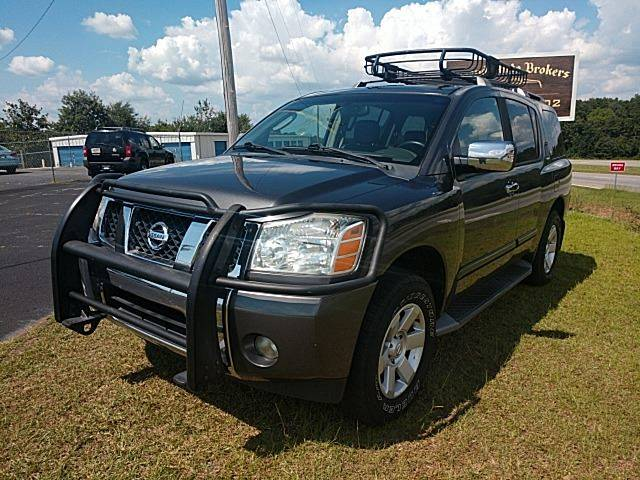 2004 Nissan Armada Le 4wd 4dr Suv In Pelzer Sc Legend Auto Brokers