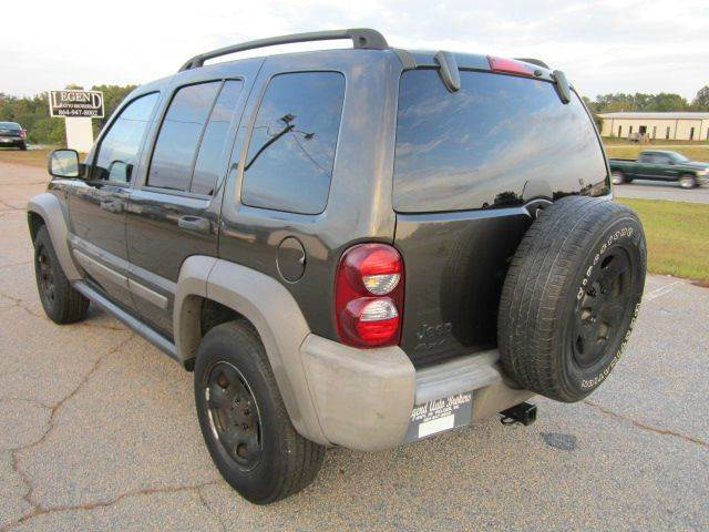 2006 jeep liberty sport 4dr suv 4wd w front side curtain airbags in pelzer sc legend auto brokers. Black Bedroom Furniture Sets. Home Design Ideas