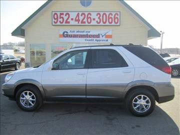 2004 Buick Rendezvous for sale at Golden Eagle Motors in Shakopee MN