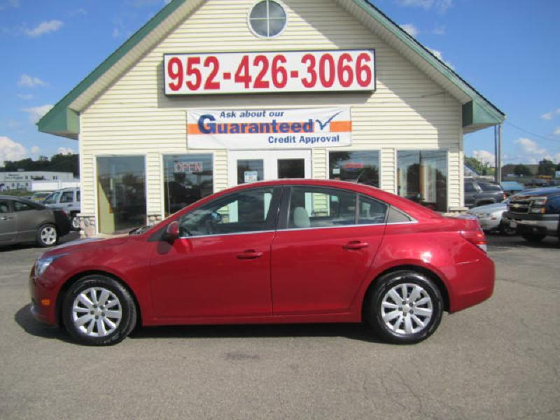 2011 Chevrolet Cruze for sale at Golden Eagle Motors in Shakopee MN