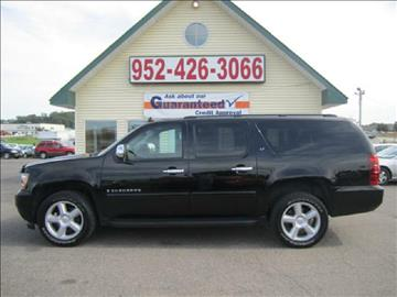 2008 Chevrolet Suburban for sale at Golden Eagle Motors in Shakopee MN
