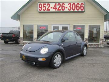2000 Volkswagen New Beetle for sale at Golden Eagle Motors in Shakopee MN