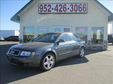 2003 Audi A4 for sale at Golden Eagle Motors in Shakopee MN