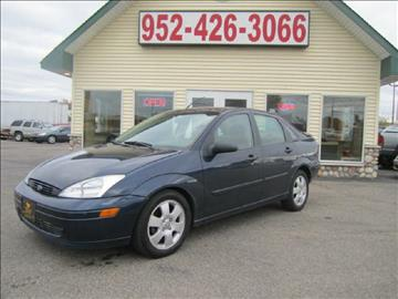 2002 Ford Focus for sale at Golden Eagle Motors in Shakopee MN