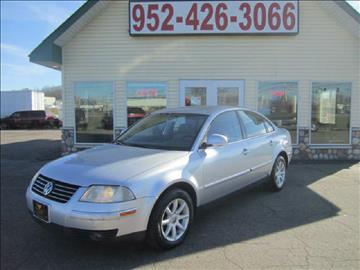2004 Volkswagen Passat for sale at Golden Eagle Motors in Shakopee MN